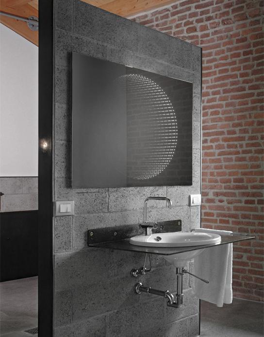 specchio 3d vision led specchio per te