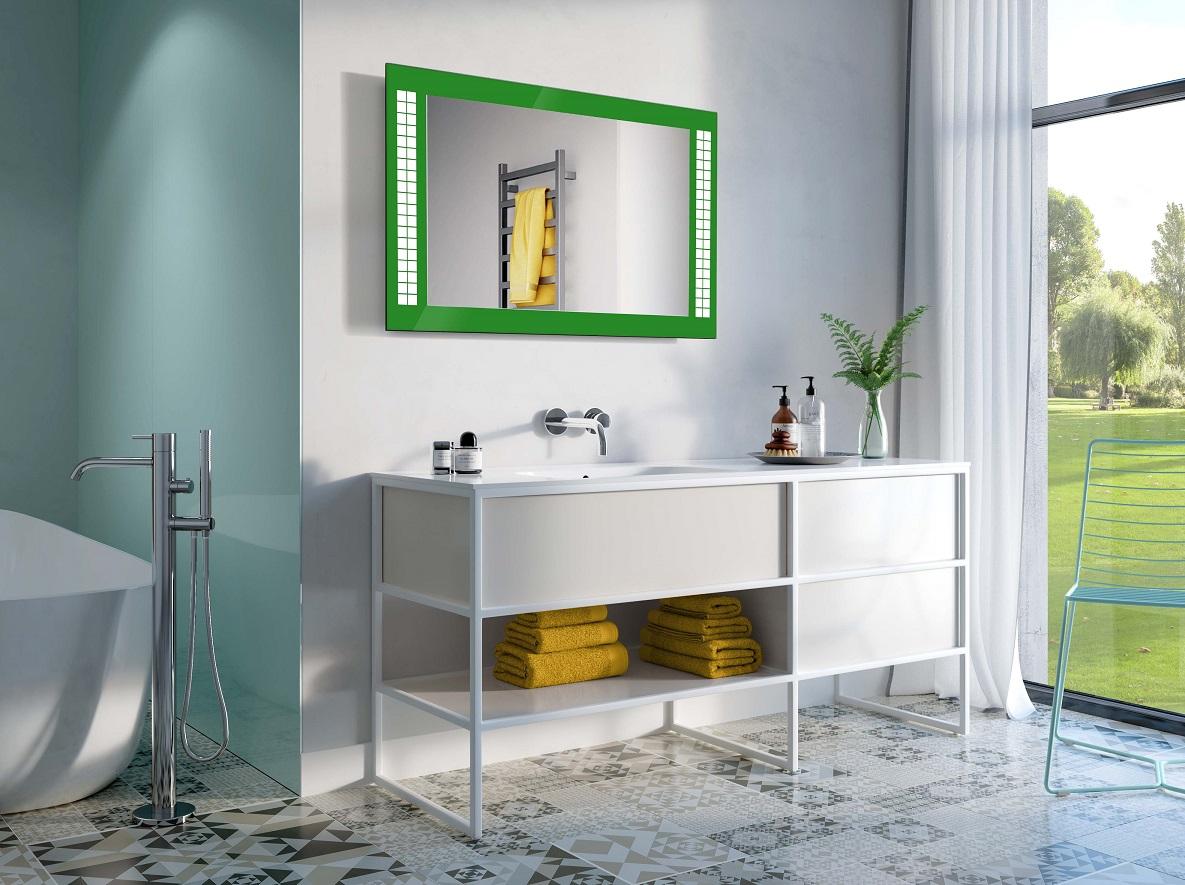 Specchio cubi led specchio per te - Specchio per valutazione posturale ...